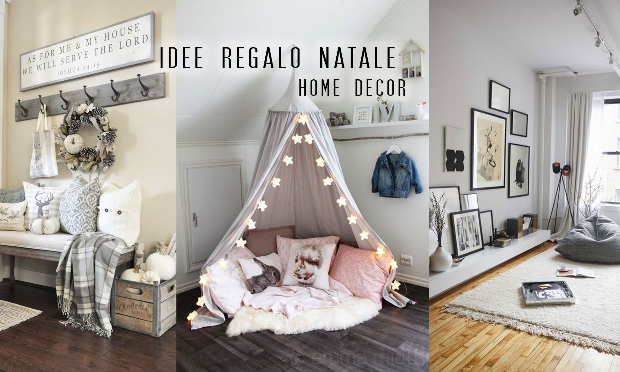 Idee regalo per natale home decoration elen ellis for Idee per progettare casa